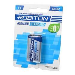 Батарея ROBITON STANDARD 6LR61 9V BL1